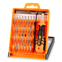 JAKEMY JM-8100 32 in 1 Mobile Phone Repair Tools Kit Multipurpose Precision Hardware Screwdriver Hand Tools Set for iPhone PC(China)