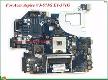 Wholesale And High Quality NBC1F11001 For Acer Aspire V3-571G E1-571G Laptop Motherboard Q5WVH LA-7912P SJTNV HM70 100% Tested(China)