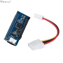 mosunx Hot Selling 40-Pin IDE Female To SATA 7+15Pin 22-Pin Male adapter PATA TO SATA Card Gift 1pcs Jan 18