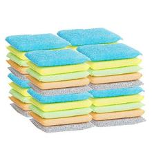 20Pcs DishWashing Sponge Kitchen Nano Emery Magic Clean Rub the pot Except rust Focal stains Sponge melamine sponge FA5-12L