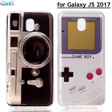 Vintage Radio Game Player Phone Cover for Samsung Galaxy J5 2017 EU European Version Silicon Case for SAMSUNG J5 2017 J530 Coque(China)
