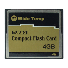 4G Industrial CF CompactFlash memory card WT Wide Temp 4GB TURBO Compact Flash Card(China)