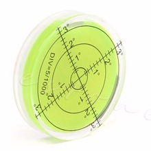 2017 NEW Precision Spirit Bubble Level Degree Mark Surface Circular Measuring Kit APR03_17(China)