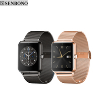 Senbono Bluetooth Smart Watch Z50 smartwatch support sim TF card Pedomente Sleep Monitor call SMS Sedntary Reminder for android(China)