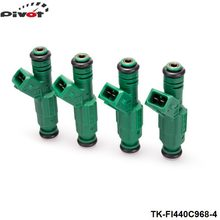 Tansky 4PCS/LOT High flow 440CC 0280155968 Fuel Injector For Audi A4 S4 TT 1.8L 1.8T TK-FI440C968-4