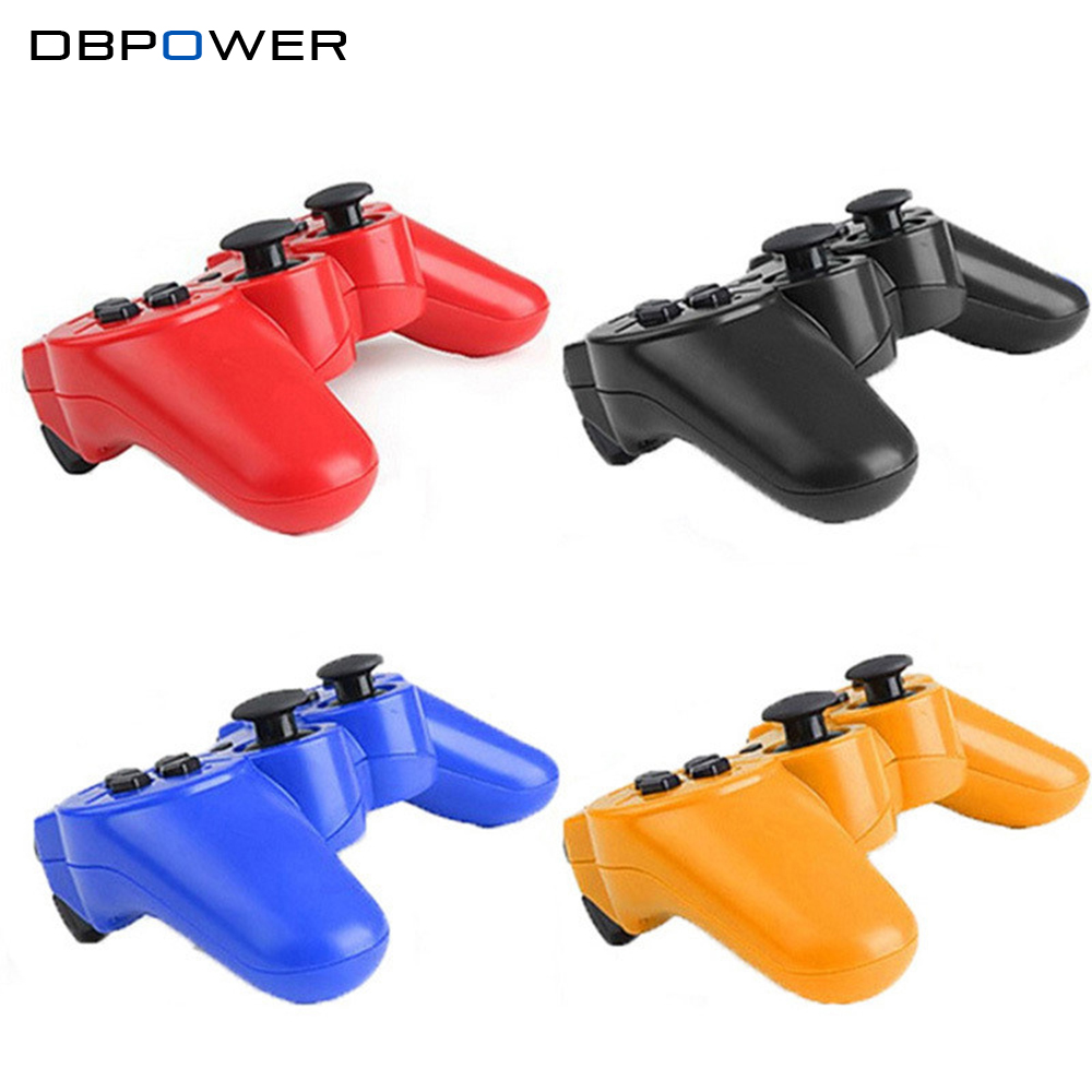 DBPOWER Wireless Bluetooth Game Controller for Sony Playstation 3 Sixaxis Controle Joysticks for PS3 Gamepad Dualshock Vibration(China (Mainland))