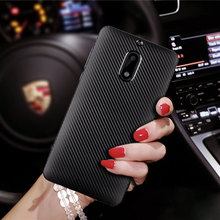 Ultra Thin Silicone Rubber Phone Cover For Nokia 6 Cases Carbon Fiber Luxury Smartphone Accessories For Coque Nokia 6 Capinhas