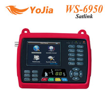 Original Satlink WS 6950 3.5 Digital Satellite Signal Finder Meter WS 6950 WS-6950 free shipping