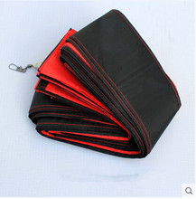 Free Shipping Outdoor Fun Sports Kite Accessories /30m Red with Black   Tail For Delta kite/Stunt /software kites Kids Gift