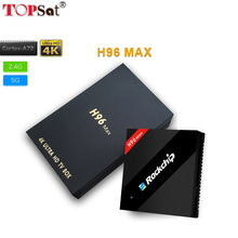4GB RAM 32GB ROM H96 Max Android 7.1 OS Rockchip RK3399 2.4G/5.8G Dual WiFi H.265 BT4.0 USB 3.0/2.0 Set top box Media player(China)