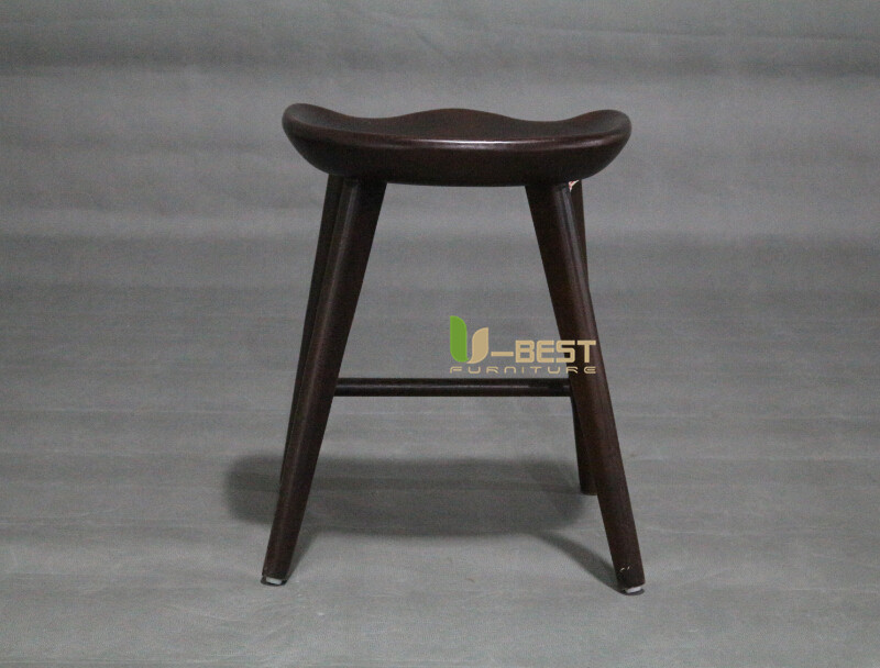 dark walnut low tractor barstool u-best stool (4)