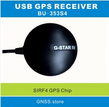 NEW sirf4 chip design 0183NMEA output Globalsat original quality bu-353s4, bu353s4 USB GPS receiver 4800 baud rate