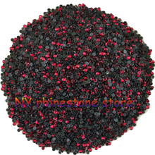 Hotfix rhinestone,1440pcs/bag,SS5(1.6mm) B Grade,Dark red glass Crystal Rhinestone Garment Accessories for dress,clothes,hat