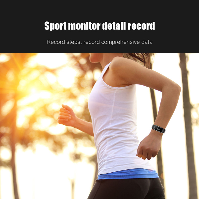 A86 Smartband Heart Rate Blood Pressure Watches Pulse Monitor Smart Band Fitness Bracelet Activity Tracker Wristband Pedometer 13