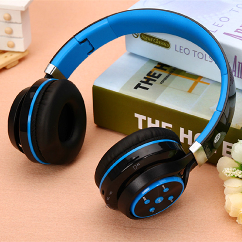 Noise Canceling Bluetooth Headphones Wireless Headband Headphone Fone De Ouvido Gaming Headsets Support TF FM Radio Audifonos<br><br>Aliexpress