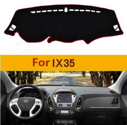 1PC For hyundai ix35 Car sticker dashboard avoid light pad Instrument platform cover sticker Mats auto accessories high quality<br>