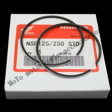 2XSet Free shipping Motorcycle PISTON RING For HONDA NSR125 NSR250