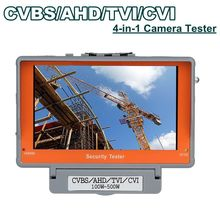 "4 in 1 Wrist 5"" CVBS/AHD/TVI/CVI CCTV Camera Test Display Monitor Tester Audio Free shipping!"