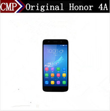 "DHL Fast Delivery HuaWei Honor 4A 4G LTE Cell Phone Quad Core Android 5.1 5"" IPS 1280X720 2GB RAM 8GB ROM 8.0MP Camera Dual Sim(China)"