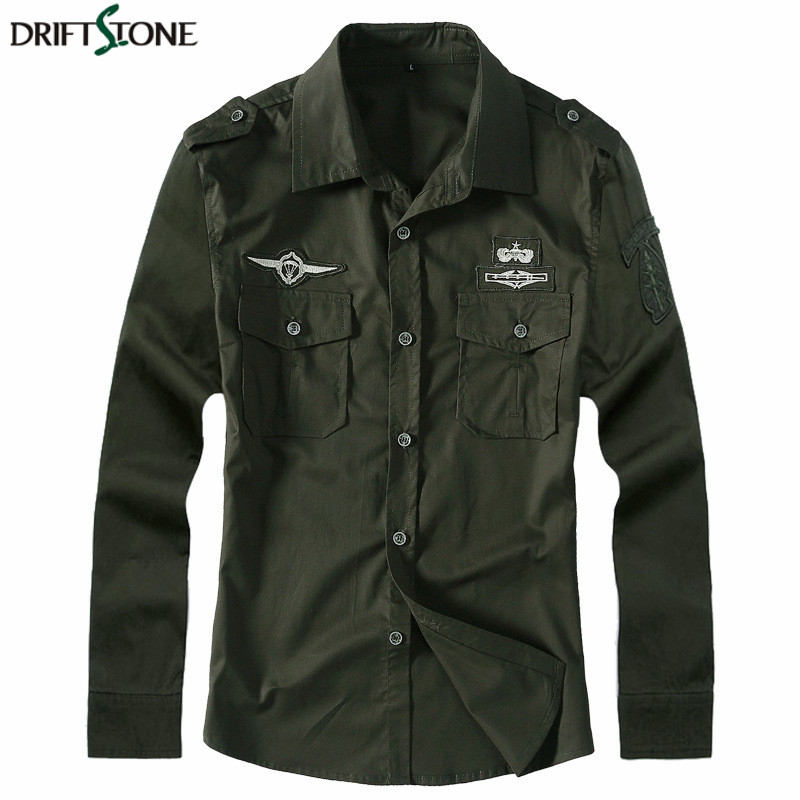 New Men's Army Clothing Spring Military Shirt Cotton Breathable Tactical Shirt Summer Long Sleeve Shirts Plus Size M-5XL