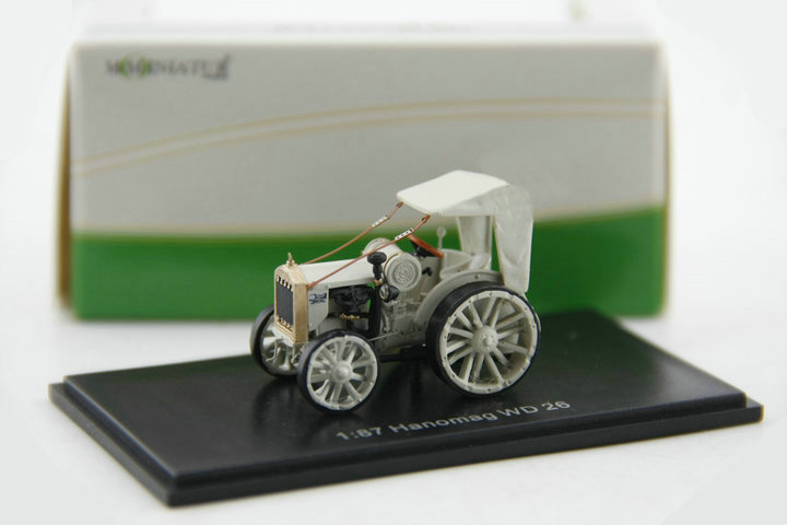 Special offer 1:87 MO-MINIATUR Hanomag WD 26 alloy classic car model Favorite Model(China)
