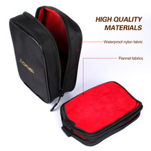 Water resistant 16-slot Nylon camera filter bag case Pouch for Circular&150mm square filter