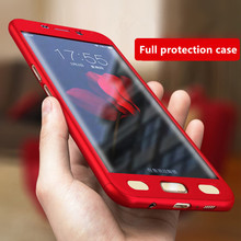 Ultra Thin Phone Case For Samsung Galaxy S8 S8 Plus Case With Clear Screen Film Protector For Samsung S6 S7 Edge J5 Case Coque