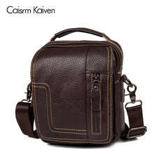 New 100% leather men bag fashion designer horizontal bag design male package wallet small letter to the package