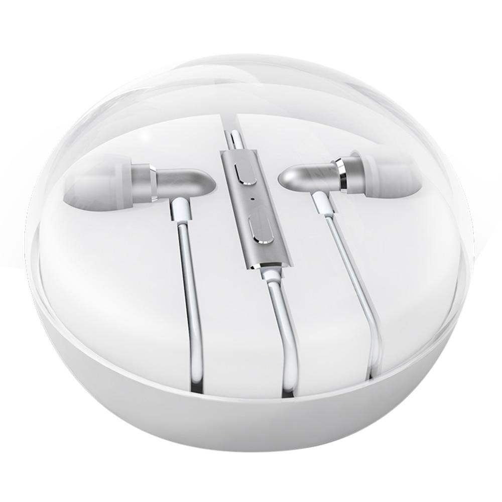 Brand Meizu Earphone EP31 HiFi 2.0 wired Earphone Earbuds with Microphone Metal Texture Design Super Bass Headset<br><br>Aliexpress