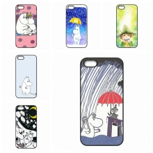 For Apple iPhone 4 4S 5 5C SE 6 6S Plus 4.7 5.5 iPod Touch 4 5 6 Moomin Valley Cartoon accessories Hard Skin