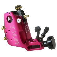 Professional Rose Red Colors tattoo gun Alloy Stigma Hyper V3 Rotary Tattoo Machine Liner Shader Top quality(China)