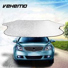 VEHEMO Car SUV Vehicle Front Window Windshield Sunshade Cover Sun Reflective Shade Solar Protection Accessories