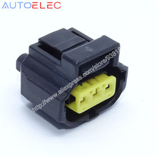 3Pin way automotive waterproof Electrical Connector 1P1243, PT5751,wpt118 Sealed Sensor Connector PBT 184038-1 for  Ford Cars