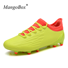 MangoBox Shoes Sneaker Men New Arrival Football Cleats For Turf Anti-Slippery Outdoor Shoes Men Lightweight Football Cleats(China)