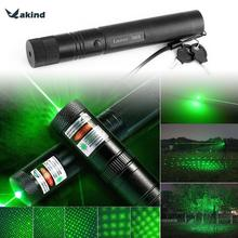 303 Laser Flashlight 500m to 10000m 532nm Hanging Green Laser Pointer Pen Visible Beam Light High Quality