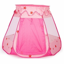 1PCS Portable Baby Princess Play Tent for Kids Toy Play House Kids Toys Outdoor Child Tent for Children Toy Gift(China)