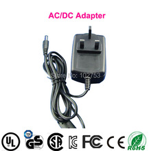 1.5m long DC cable 10pcs free shipping 24W power supply , high quality wall mount ac adapter 12v 2a uk plug, ac/dc transformer(China)