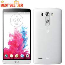 Original Unlocked LG G3 D855 D850 D851 GSM 3G&4G Android Quad-core RAM 3GB 5.5 inch 13MP Camera WIFI GPS 16GB Mobile Phone
