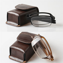 TR90 Folding Reading Glass Spectacles 1.0 1.5 2.0 2.5 3.0 3.5 Diopter Presbyopia Eyeglasses Case 041