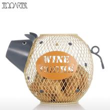 Tooarts Animal Lovely Piggy Figurines Wine Cork Container Modern Home Decor Mini Animal Craft Gift Home Decoration Accessories(China)
