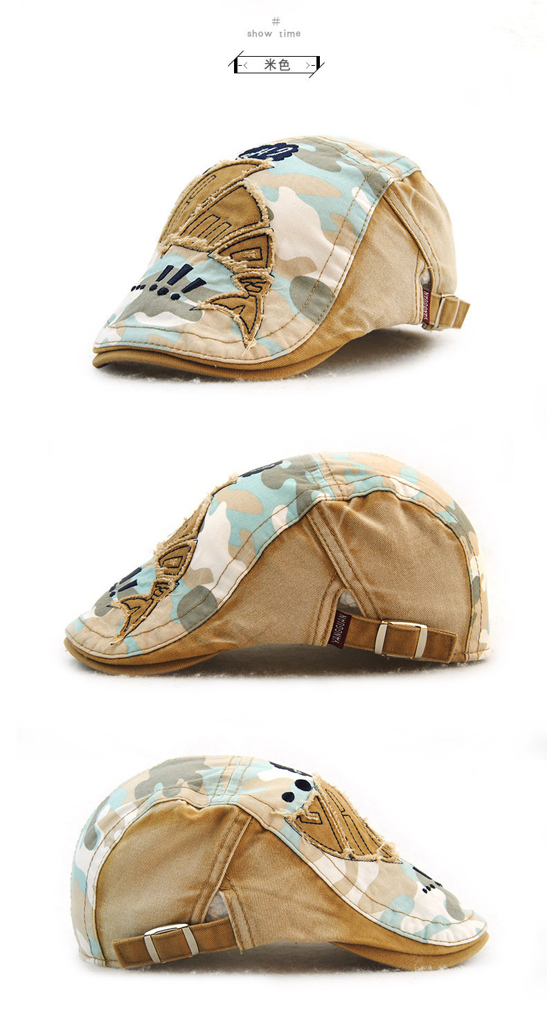 Children Camouflage Newsboy Hats Pure Cotton Patched Peaked Cap Boy Diagramme Predominance Ph On Jeep Commander Suspension Diagram Ivy Hat Girl Beret Caps 52 56cm Us277