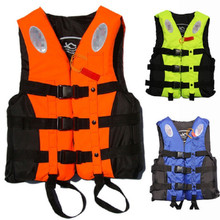 Outdoor Life Vest for fishing life vest Life Jacket raft swim vest inflatable life vest adult with whistle(China)