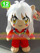 Movies & TV  Inuyasha figure 30cm anime Kagome plush toy cute doll high quality children favorite gift w859