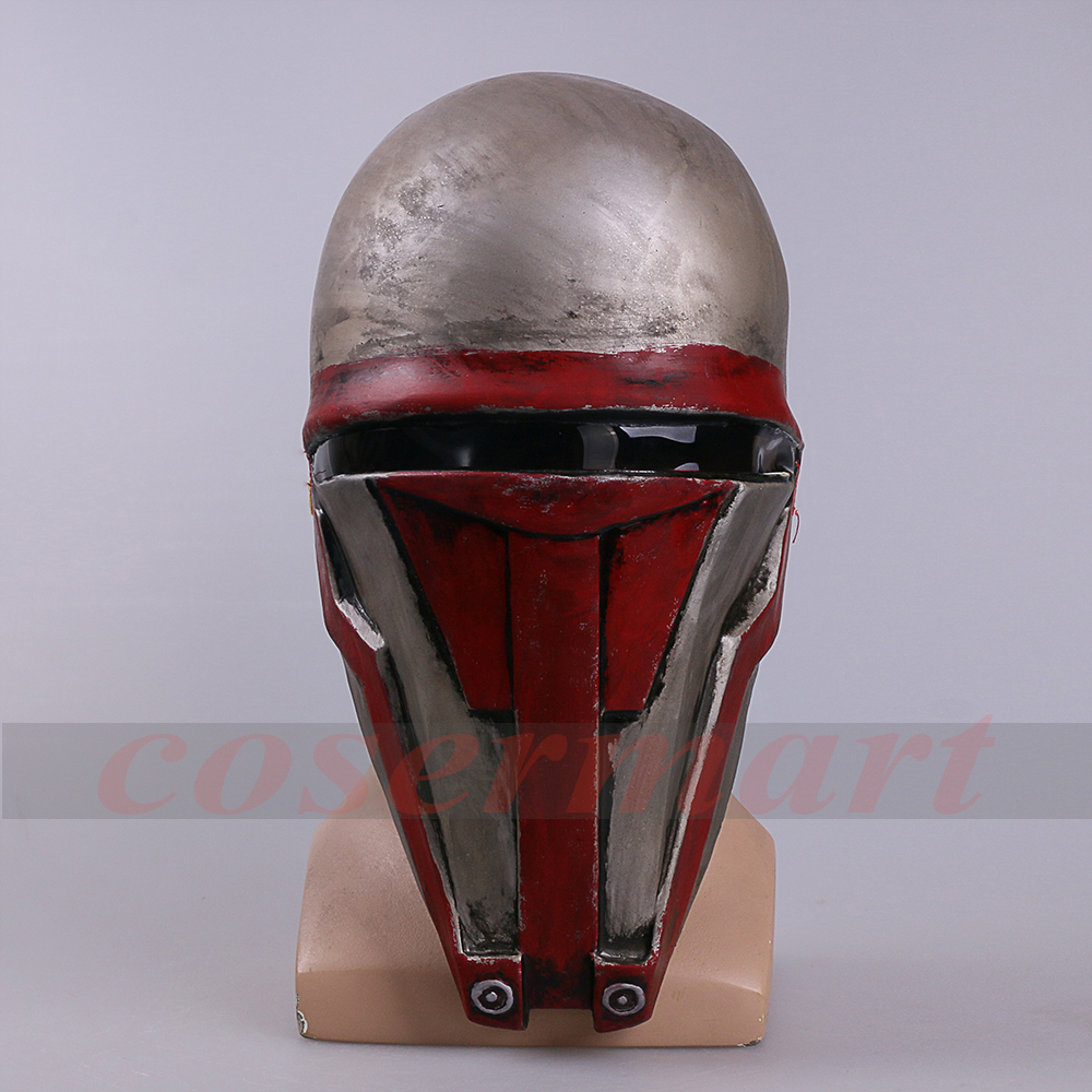 Movie Star Wars Knights of the Old Republic Darth Revan Mask Cosplay Helmet Masks Adult Latex Halloween Party Prop (8) -