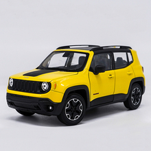 WELLY 1:24 2015 Jeep Renegade City SUV JEEP Cross Country Car Diecast Model Car Toy For Kids Gifts Original Box Free Shipping(China)