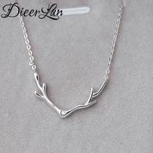 New Arrivals 925 Sterling Silver Deer Necklaces & Pendants For Women Fashion sterling-silver-jewelry