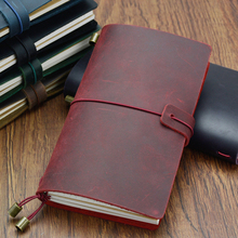 Fromthenon Handmade Genuine Leather Notebook Vintage Traveler's Journal Cowhide Diary Looes Leaf Now BUY 1 Book Get Accessories