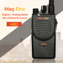 Mag One A8D walkie talkie A8 upgraded version of high power digital two way radio UHF 403-425MHz portable handheld radio(China)