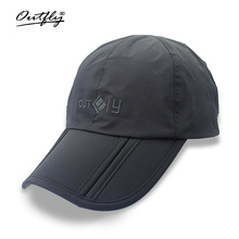 Outfly breathable waterproof duck cap outdoor travel mountaineering folding waterproof anti - UV men 's sun hat(China)