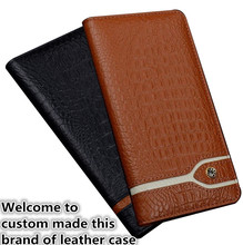 ND12 genuine leather flip cover case for Asus Zenfone AR ZS571KL phone case for Asus Zenfone AR leather case free shipping(China)